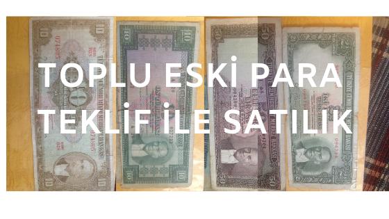 Photo of Satılık toplu eski paralar
