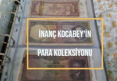 inanç kocakaya'nın eski para koleksiyonu
