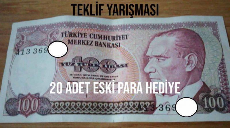 Eski para teklif yarışması