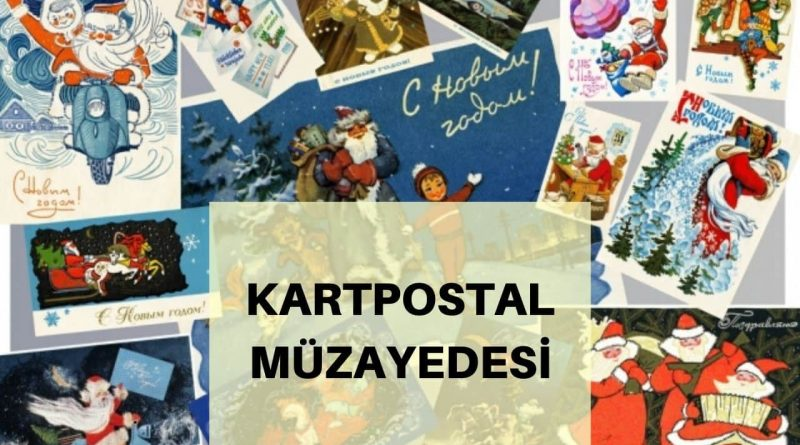 kartpostal müzayedesi